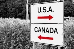 CANADA-USA -SIGN